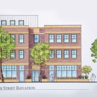 487 Duane Street: Duane St Elevation
