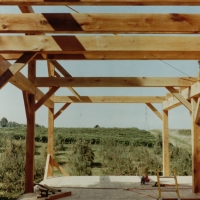 Shawnee Winery/House: Timber frame