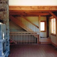 Shawnee Winery/House: Staircase