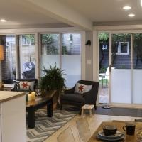Mid-Century Split Level: Family room