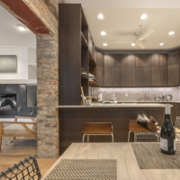 Bucktown Renovation for Two Artists: Kitchen