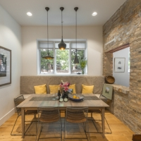 Bucktown Renovation for Two Artists: Dining room