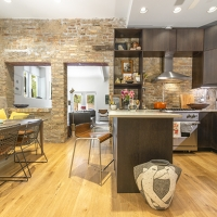 Bucktown Renovation for Two Artists: Kitchen & Dining room