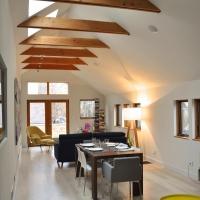 Bucktown renovation: Dining & Living room