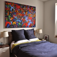 Bucktown renovation: Master bedroom