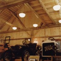 Car Barn: Main level display area