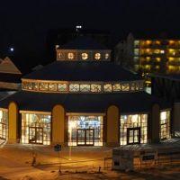 Silver Beach Carousel: Night view