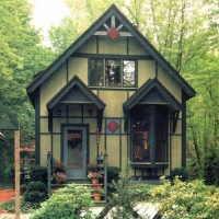 Dot House: Twin Elevations