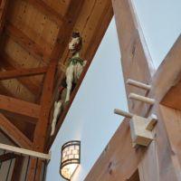Manhattan, Illinois House: Timbers