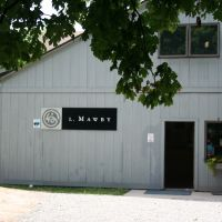 L. Mawby Vineyards: Tasting room entrance