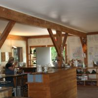 L. Mawby Vineyards: The tasting room