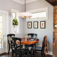 Roscoe village Rehab: Breakfast nook