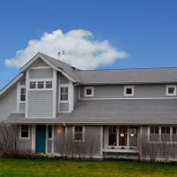 Teal House: Exterior