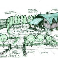 "Proposed Winery in Southwest Michigan: Possible entry ""A"""