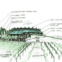 "Proposed Winery in Southwest Michigan: Possible entry ""B"""
