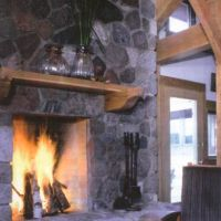 Wasau, Wisconsin: Fireplace